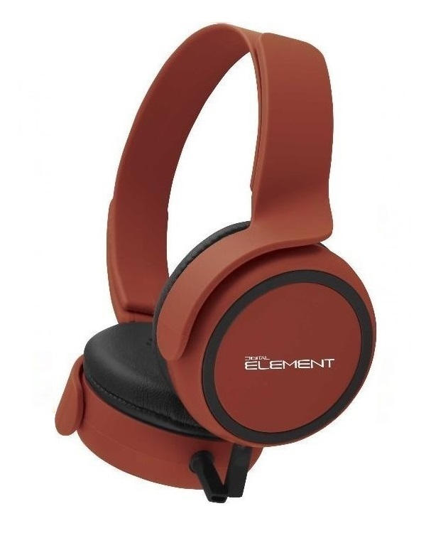ELEMENT HD-660R HEADPHONE RED
