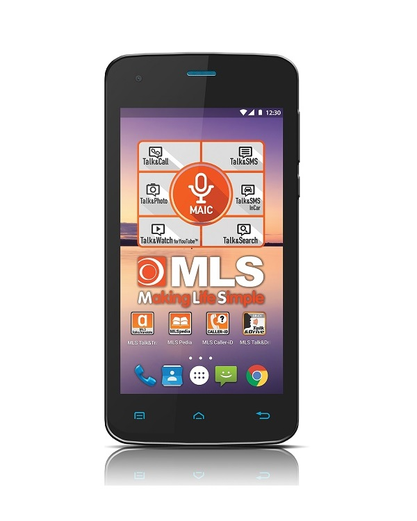 MLS COLOR MINI 4G SMARTPHONE BLACK - Έως 3 άτοκες δόσεις