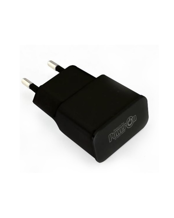 POWER ON CH-25K V2 USB CHARGER 2.1A BLACK