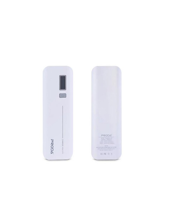 REMAX JANE V6i PPL-5 10000mAh POWER BANK WHITE - Έως 3 άτοκες δόσεις