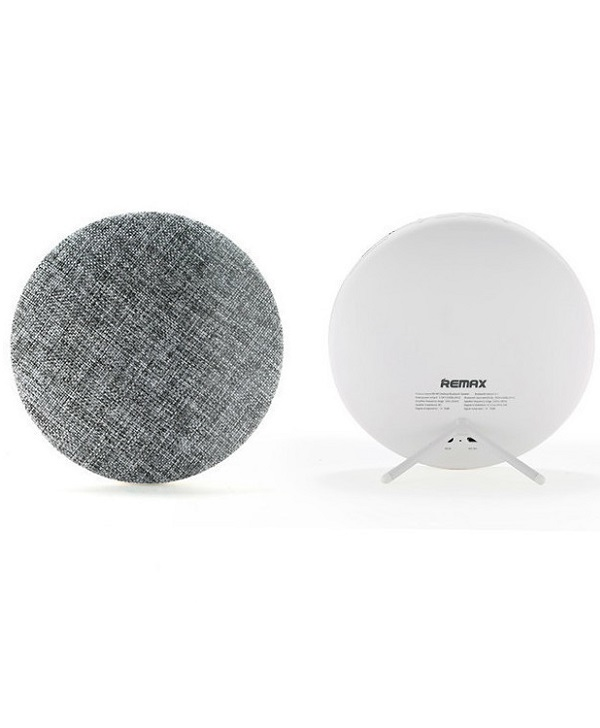 REMAX RB-M9 FABRIC DESKTOP BT SPEAKER WHITE - Έως 3 άτοκες δόσεις