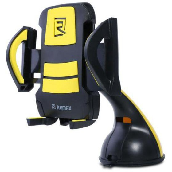 REMAX RM-04 BY CAR HOLDER FOR SMARTPHONE BLACK & YELLOW