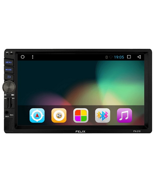 FELIX FX-210 MP5 2DIN ANDROID CAR AUDIO PLAYER - Έως 6 άτοκες δόσεις