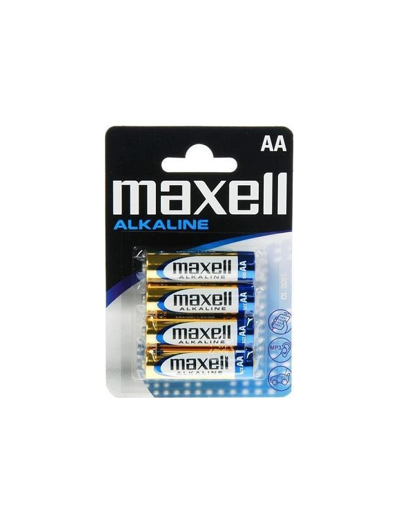 MAXELL LR AA ΜΠΑΤΑΡΙΕΣ (4 τμχ)