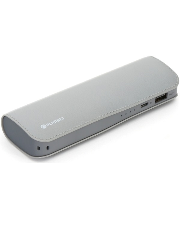 PLATINET PMPB72L 7200mAh POWERBANK GREY - Έως 3 άτοκες δόσεις